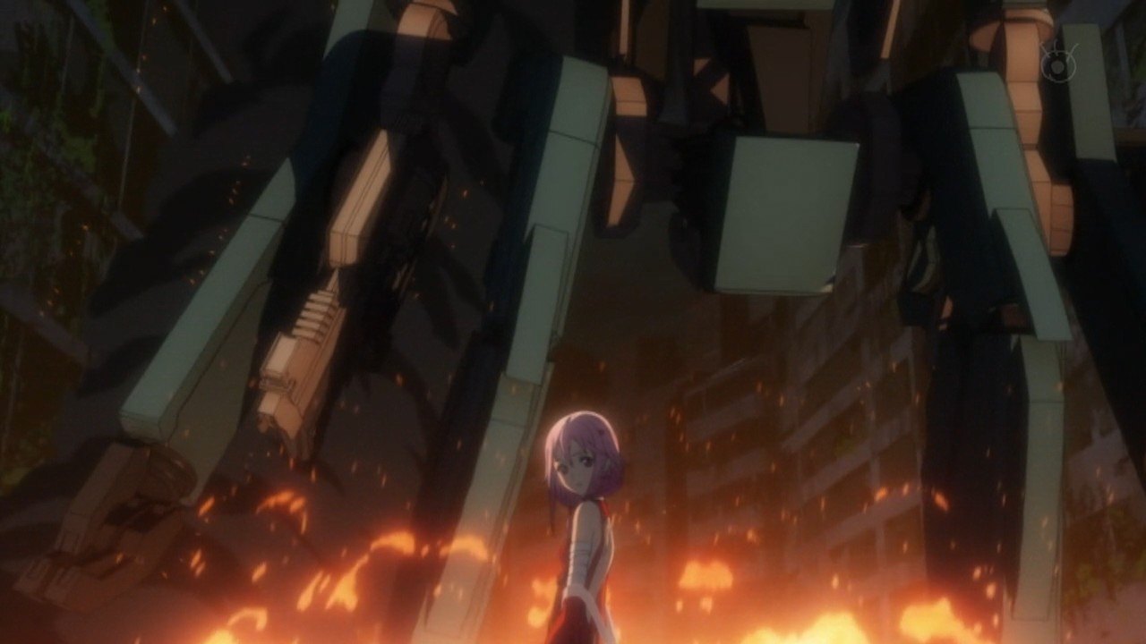 guilty crown episode 1 anime waffle