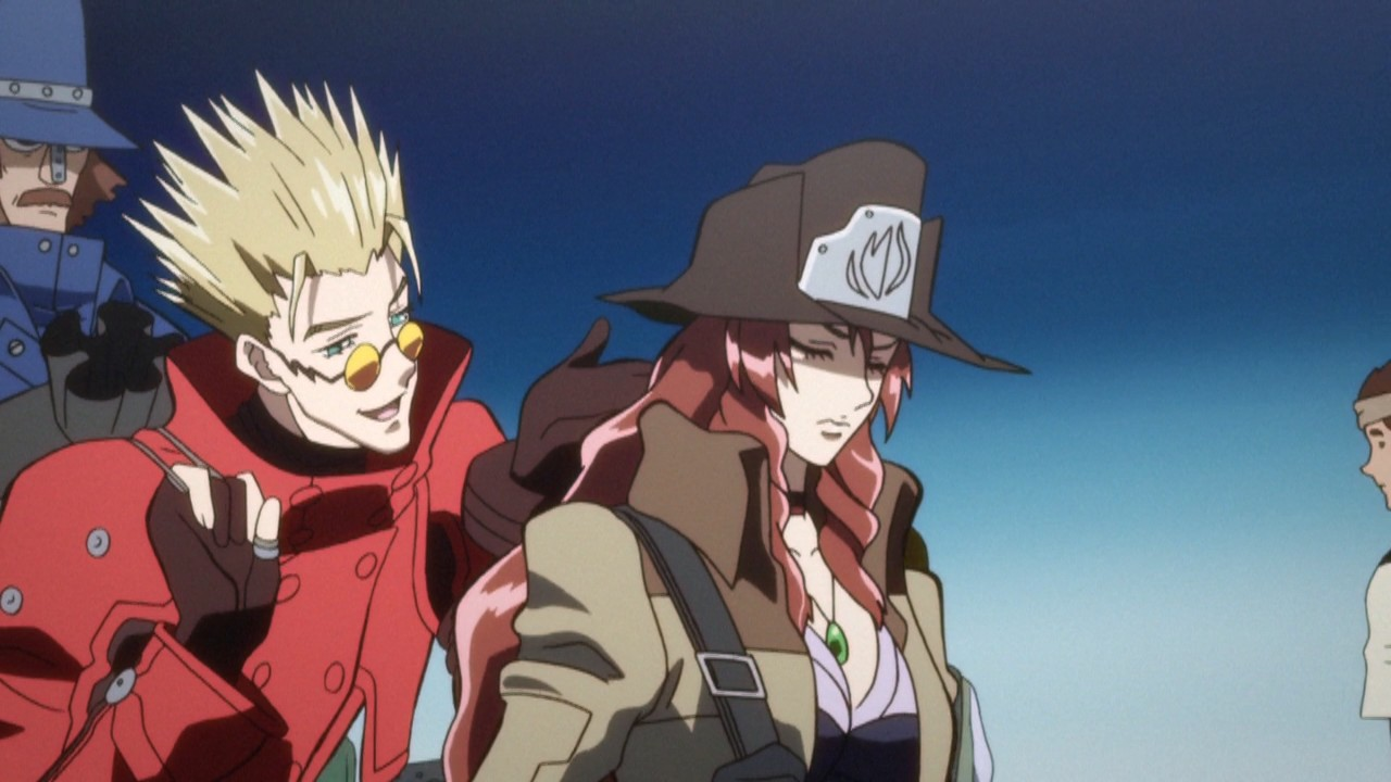 Anime Review Trigun Movie Badlands Rumble This Euphoria