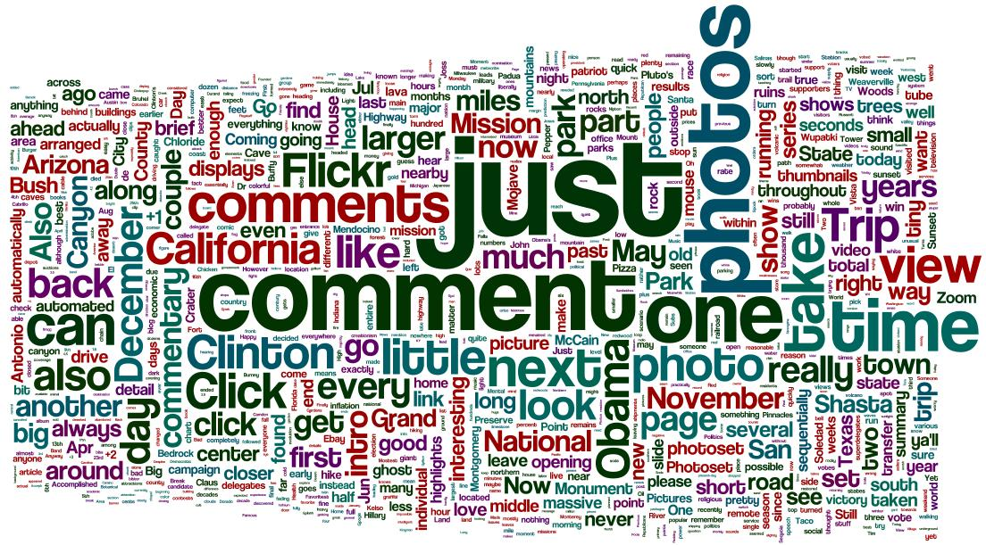 Created a wordle based on the last 100 entries from my livejournal